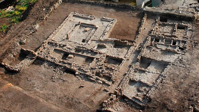 izraelinfo bronzkori regeszeti leletek izraelben