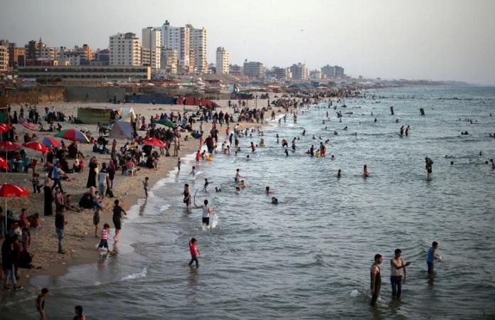 izraelinfo gazai tengerpart