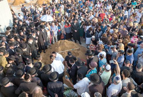 Eszti Veinstein temetese