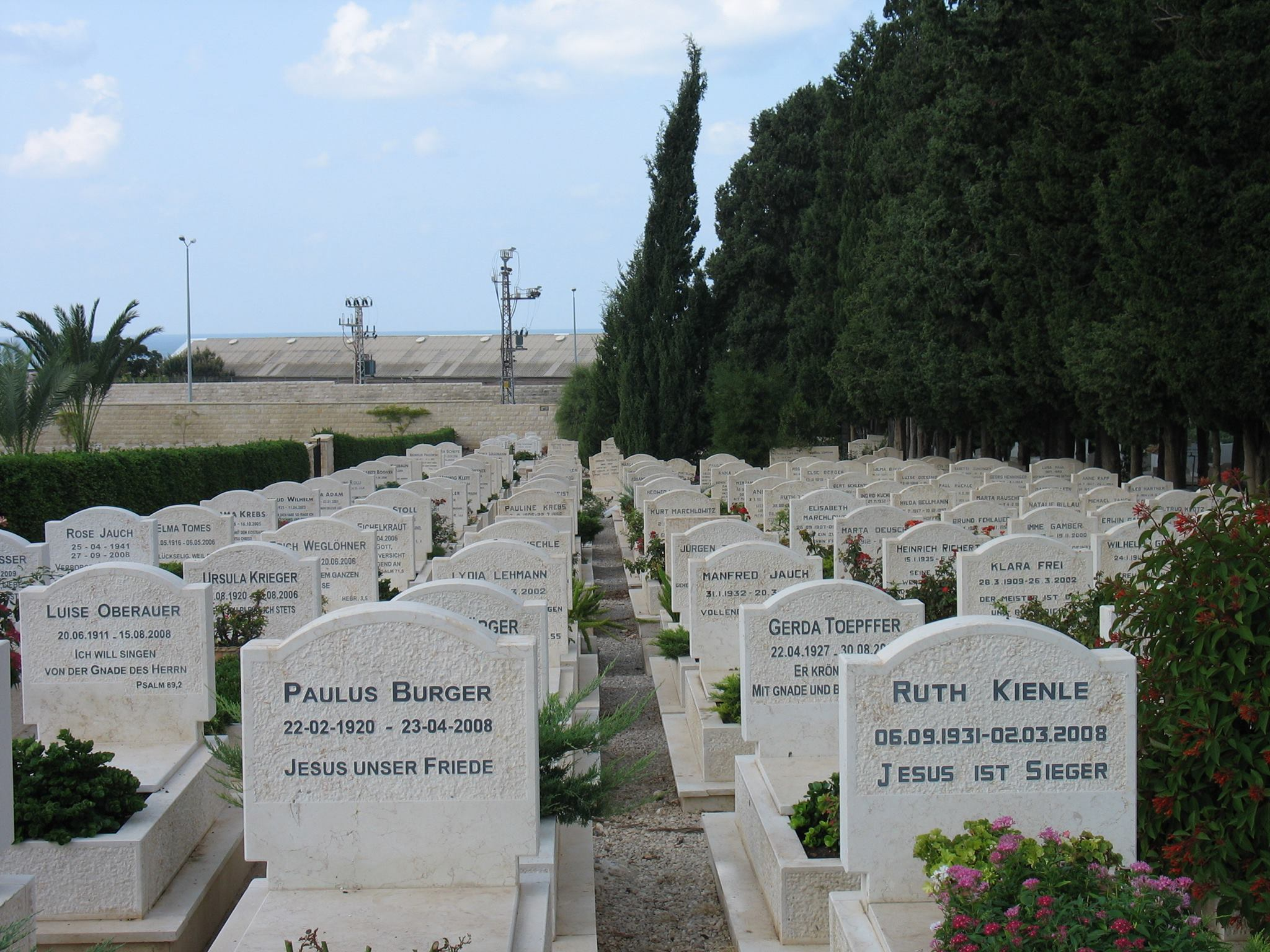 keresztyen temeto izraelben